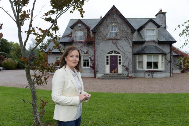 Owner Siobhan Cosgrove outside Deetjen Lodge. Photo: Bryan Meade