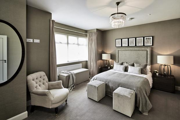 Clairville Lodge features stylish bedrooms.