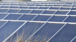 Finance Minister Paschal Donohoe said the initiative was subject to the panels covering no more than 200 solar farm planning applications.