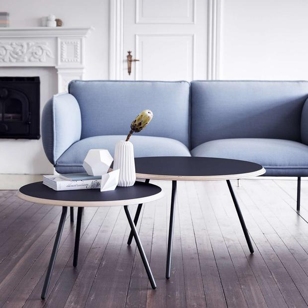 Your sofa is a long-term investment, says Arlene McIntyre, below, of Ventura Design. This neat little sofa by Nakki, at CA Design, is a definite splurge at €5,500. Photo: Ruth Maria Murphy