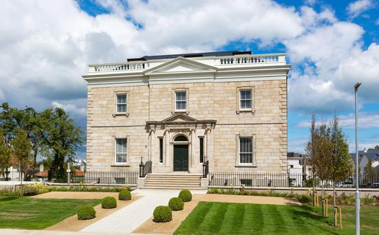 Neptun House in Blackrock, where four extra-large apartments launched this week