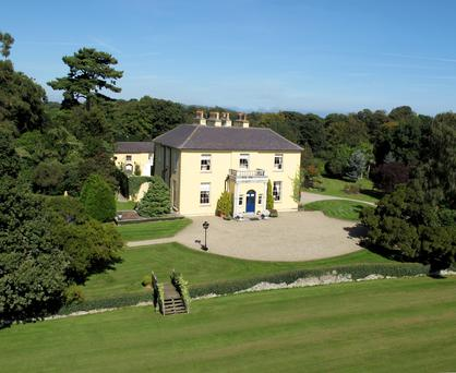 Wilford House sits on seven acres of landscaped gardens