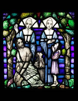 The Daughters of Charity — the Butterfly Nuns, from the Harry Clarke Studios
