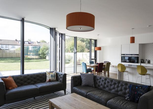 The living space of the Terenure property