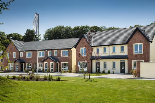 The different house types at Cois Glaisín