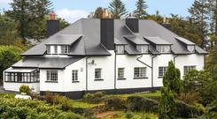Moycullen House has a new roof but retains many of the original period features inside