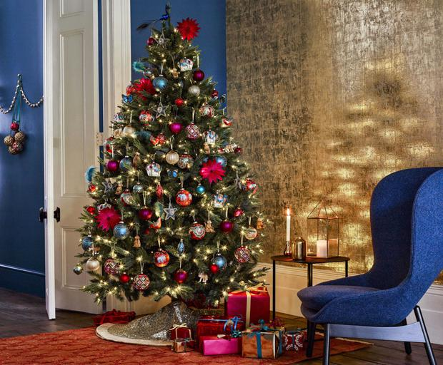 put up your christmas tree stock image - When Do You Put Up Your Christmas Tree