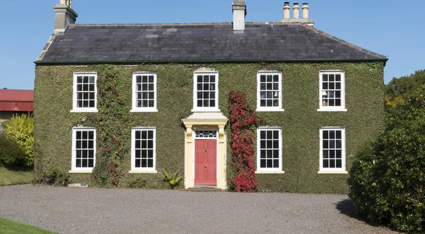 Tullymurry House in Banbridge, Co Down is available to rent and overlooks the Mourne mountains