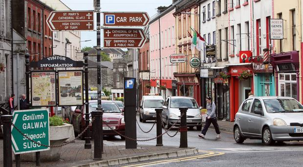 Expanding commuter belt: Tuam, Co Galway