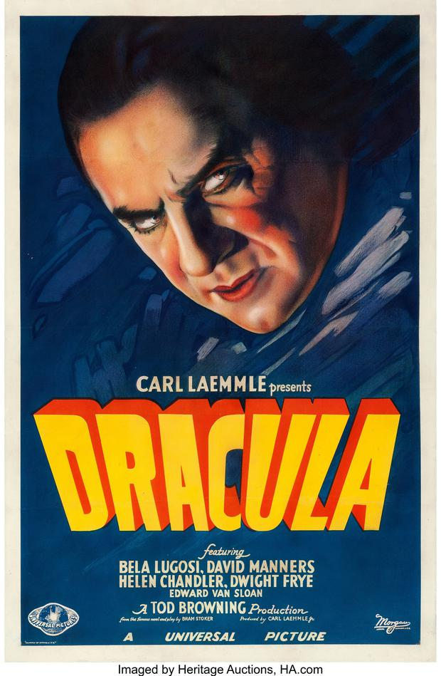 The Dracula poster which made €441,036 at auction last November