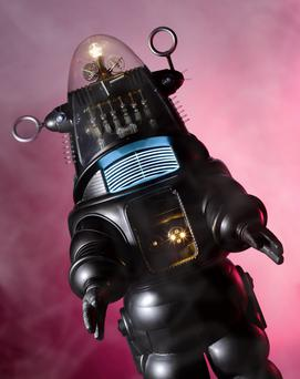 Robby the robot was sold at auction for €4.3m