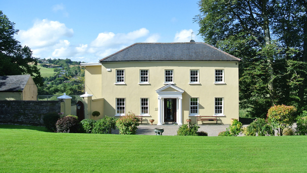 Carrigrohane — a former hunting lodge that is now a fisherman's paradise — overlooks the River Lee