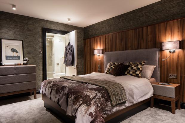 Bedroom designed for a Donnybrook pad