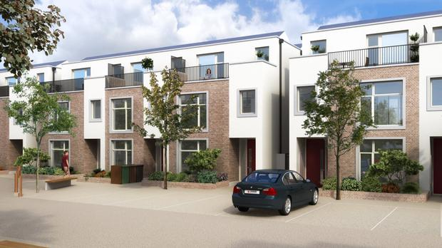Grangeabbey in Monkstown is a small development which will total only 29 houses when complete