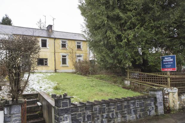 The Railway Terrace property in Ballinamore