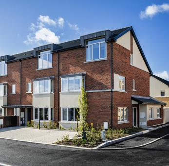 The latest phase of housing of Michael Cotter's Clay Farm development in Leopardstown, south Dublin