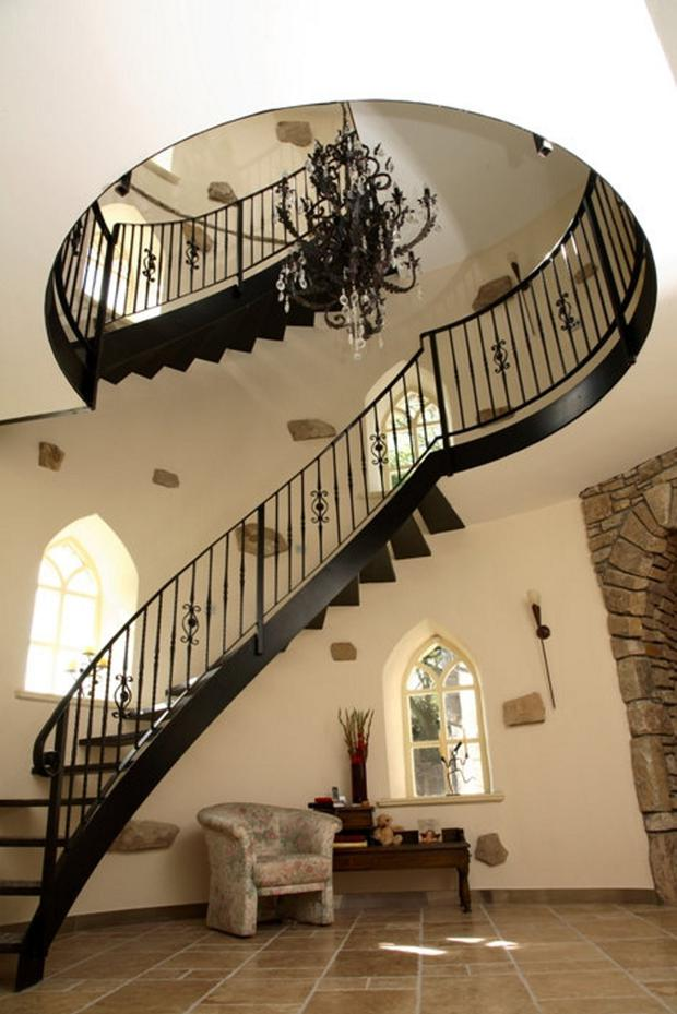The fantastic spiral staircase