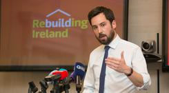 At the launch of the Rebuilding Ireland scheme Minister Eoghan Murphy said the Government recognised that home ownership was an important aspiration in a 'Republic of Opportunity'