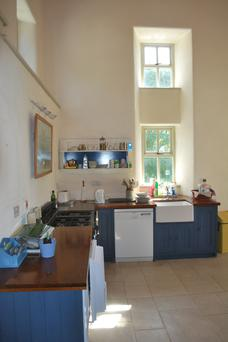 The kitchen at Ballynew, Cleggan, Co Galway
