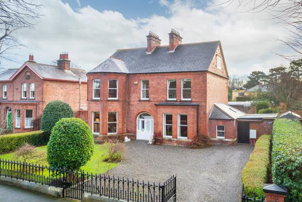Six-bed Northcote, 17 Temple Gardens, Rathmines, is priced at €4.5m