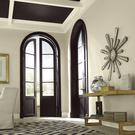 A dark ceiling, painted here in Fleetwood's Rue Chapel 1830, can create a dramatic impact and frame a space beautifully. From €21.99 for a litre, fleetwood.ie
