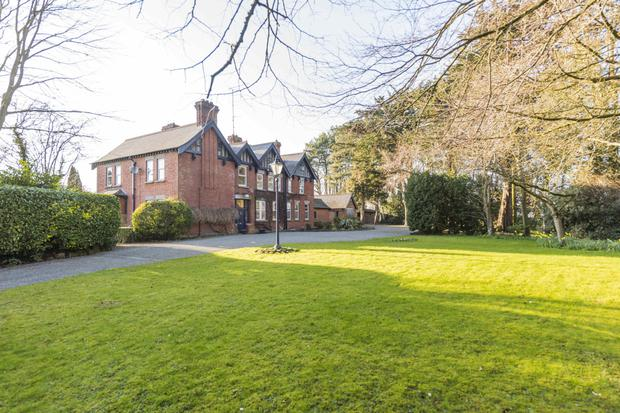 Knockmount, at Dublin Road, Drogheda is a mock-Tudor house with an ecclesiastical past