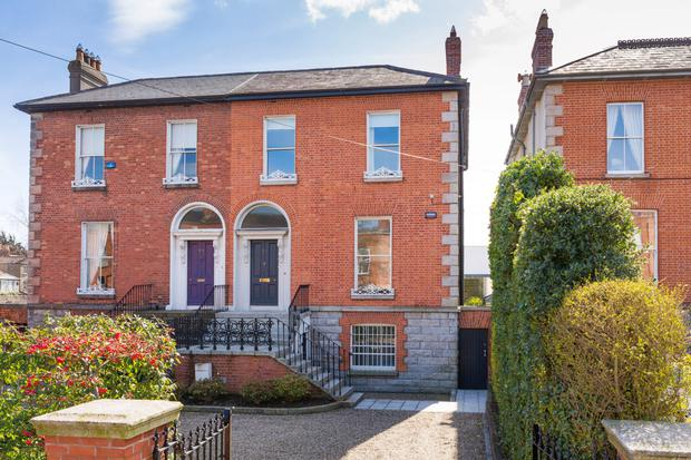 90 Marlborough Road in Donnybrook is on the market for €2.25m