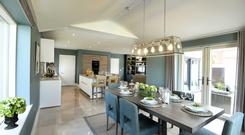 The kitchen/dining area in Rosefield