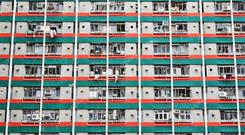 High-rise public housing in Hong Kong where the average apartment is similar in size (300 to 400 sq ft) to the types being considered