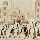 LS Lowry used only five colours: vermilion, ivory black, Prussian blue, yellow ochre, and flake white
