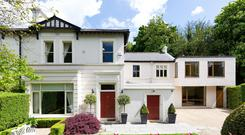 No 22 Anglesea Road, Ballsbridge, a five bedroom semi, is on the market for €2.3 million