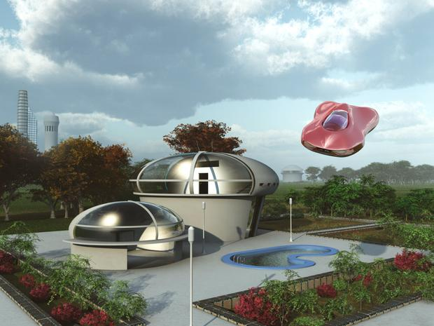 To boldly go where no one has gone before: Homes of the future as imagined in the 1970s