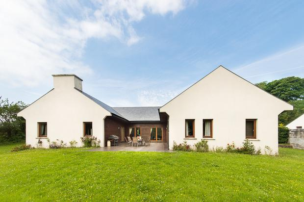Number 1 Cahir Lodges is one of three houses in a gated development