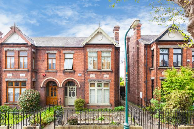 This three-bed semi at 42 Lindsay Road, Glasnevin is on the market for €895,000
