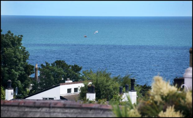 View from Parkville, Sorrento Road, Dalkey