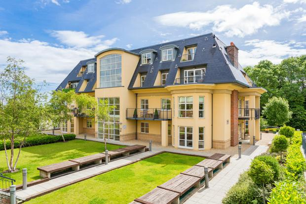 Number 13 Wingfield in Stepaside in D18 is a three-bedroom penthouse for €425,000