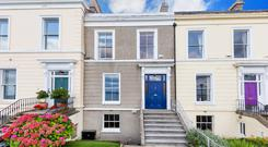 The property at 17 Idrone Terrace is one of 27 houses on the sea-facing terrace in Blackrock