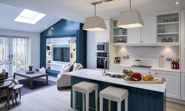 Custom-design: The kitchen at Furness Wood