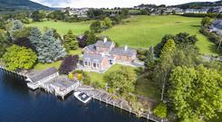 The Station House occupies 0.9 acres and boasts 275ft of water frontage with it's own jetty and river views from all of the principal rooms