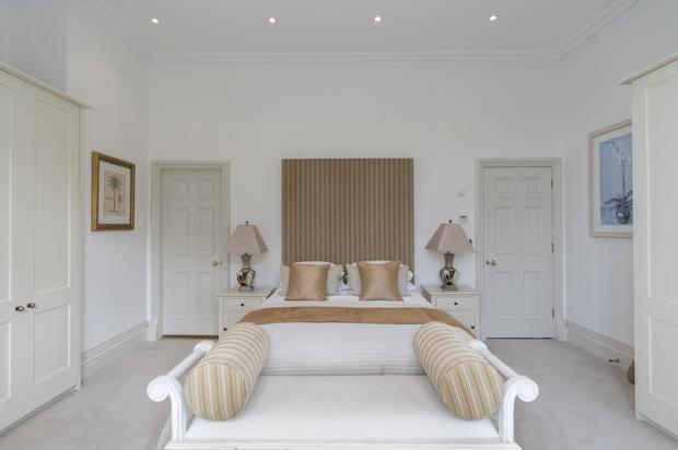 Master bedroom at No 17 Bayview in Sutton Castle
