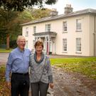 Left, Kevin and Therese Neville of Whitechurch House, which has six bedrooms, four self-catering apartments and a gate lodge, all on 59 acres