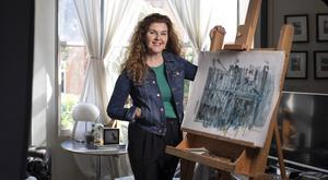 Artist and interior designer Roisin Murphy at home in Drumcondra
