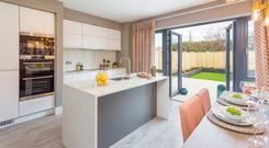 A kitchen diner at Camberley mews