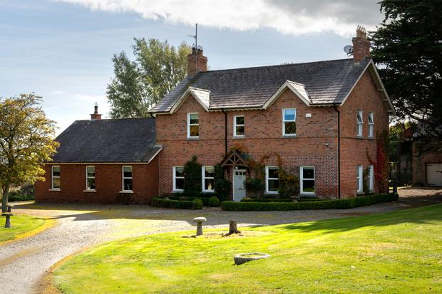 The farmhouse dates from 1860