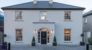 Emulating the Georgian style, the houses are less than five kilometres away from Fairyhouse racecourse