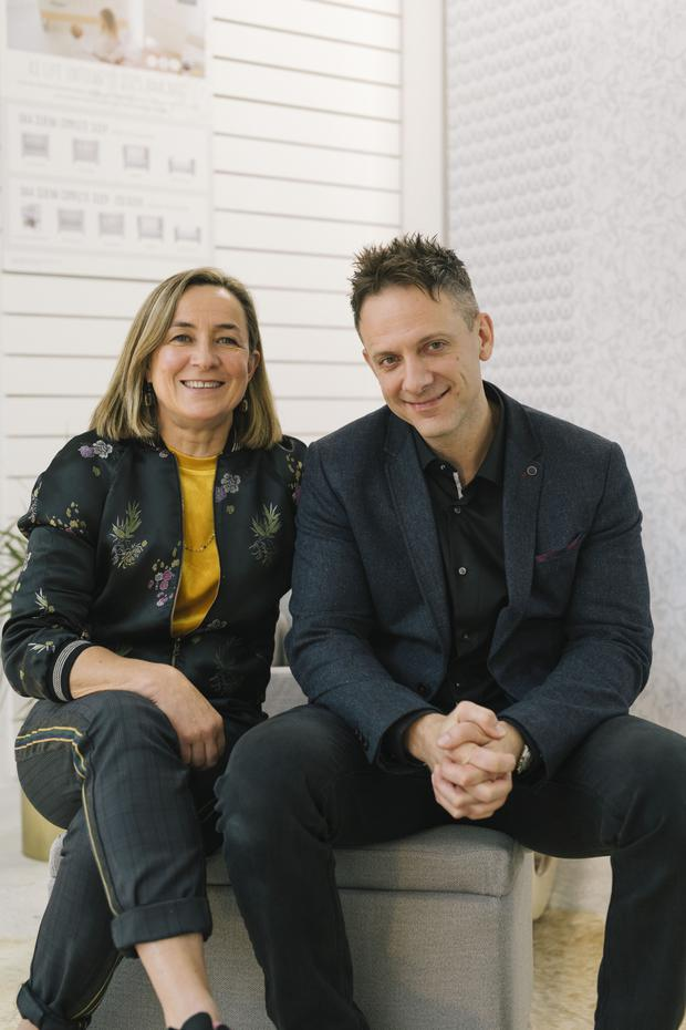 Joanne O'Grady and Karl Millergill of Gaia Baby