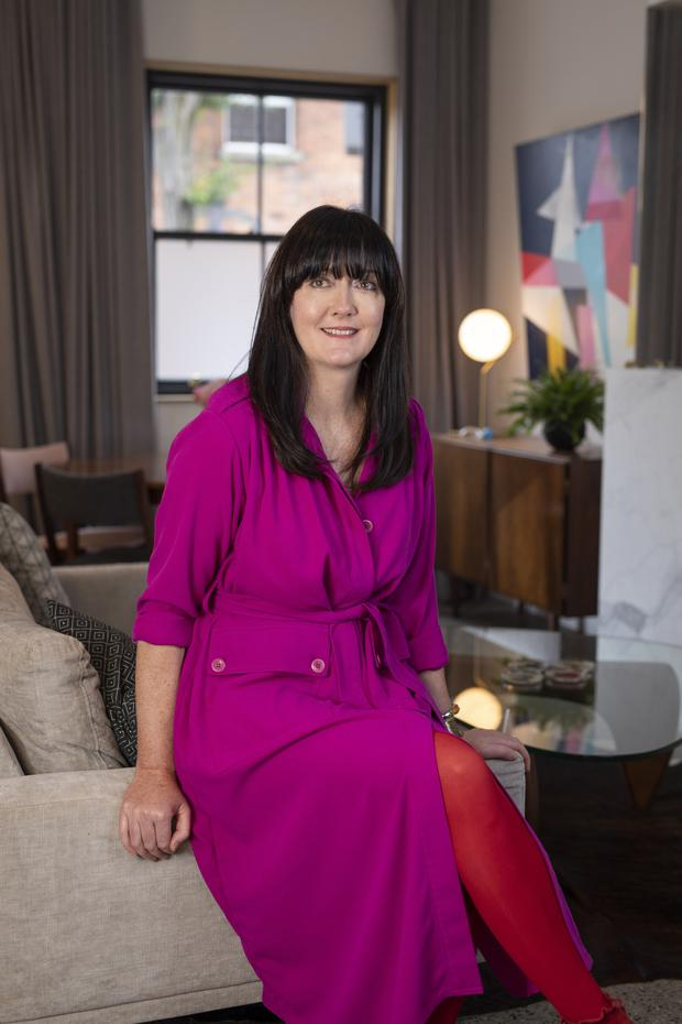 Architect and designer Cliona Dempsey at home in the Liberties