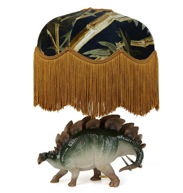 House of Hackney Dinosauria Lampstand, approx. €995: Humour gives this lampshade an edge; houseofhackney.com