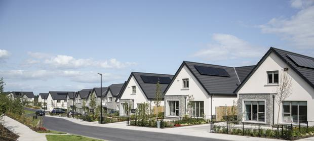 The bungalows at the Glenheron scheme in Greystones