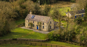 Hill House comes with a separate cottage that's rented out for holiday lets.